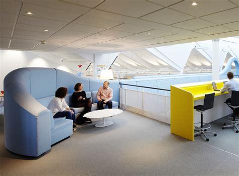Lego Office by Bespoke Meeting Area Self Screening Sofa Interior Design