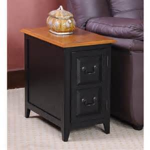 Black Living Room End Tables by Leick Favorite Finds Shaker Storage End Table Slate