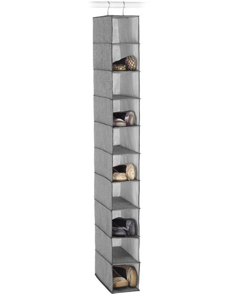 hanging shoe holder closet hanging shoe organizer narrow in hanging shoe organizers