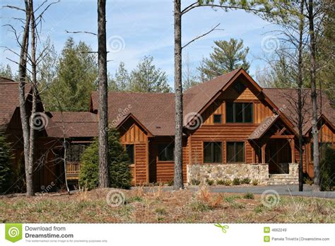 wood sided houses wood sided home royalty free stock images image 4662249