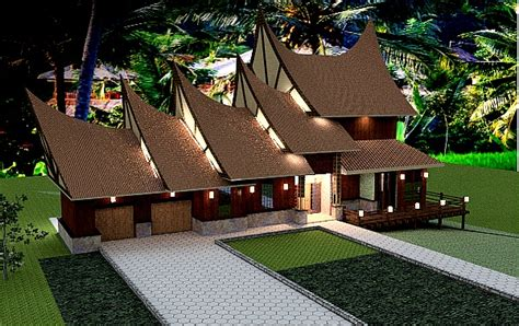 house design in indonesia sda architect 187 malay indonesian house plan
