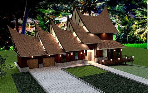 indonesian traditional design sda architect 187 category 187 dream house plans