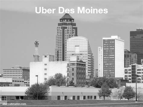 uber in des moines us estimate fares updated rates