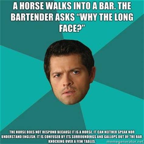 Supernatural Castiel Memes - 17 best images about castiel s anti jokes on pinterest