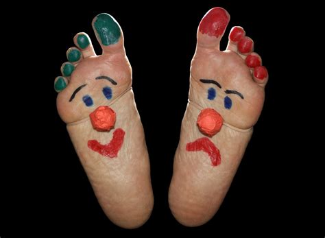 free photo clown feet foot fun funny sole free