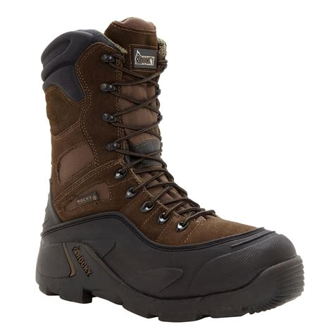 stalen boot men s steel toe waterproof insulated work boot the rocky