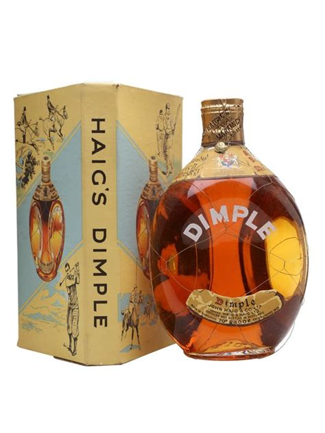 dimple haig bots spring cap blended scotch whisky