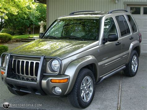 2004 Jeep Grand Liberty Edition 2004 Jeep Liberty Limited Edition Id 6200