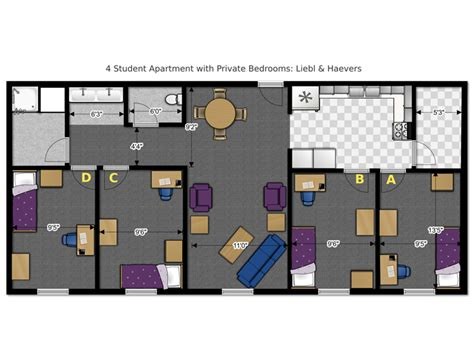 bedroom planning floor plans office of residence life university of