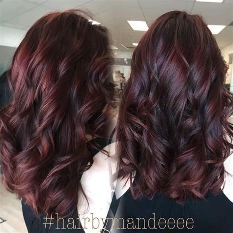 burgundy brown hair color hair beautiful