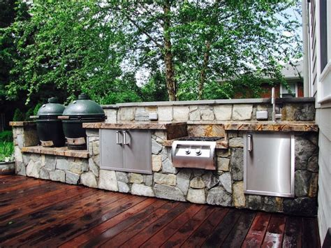 Kitchen Walls Ideas by Outdoor Kitchen Designs Amp Installation J Amp J Landscape