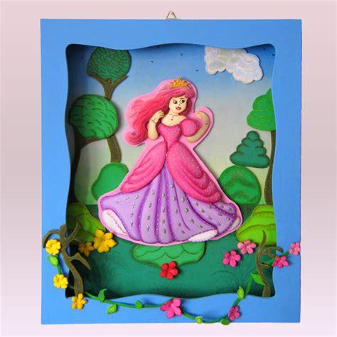 cuadros habitaciones ni os terearte cuadro princesa ariel para colgar en la