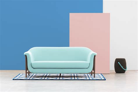 baby blue sofa 2 seater fabric sofa valentim baby blue by dam design hugo