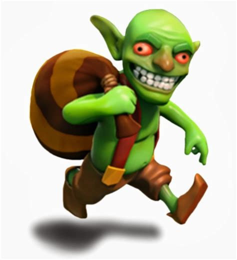 Coc Goblin King clash of clans clash of clans goblin review