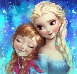 Frozen Elsa Anna Fan Art Angju Deviantart