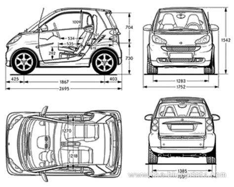 smart car dimentions smart fortwo dimensions 2017 ototrends net