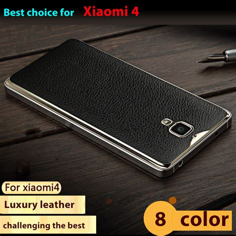 Luxury Xiaomi Mi4 Silicon Cover 8 colors top quality luxury battery cover for xiaomi