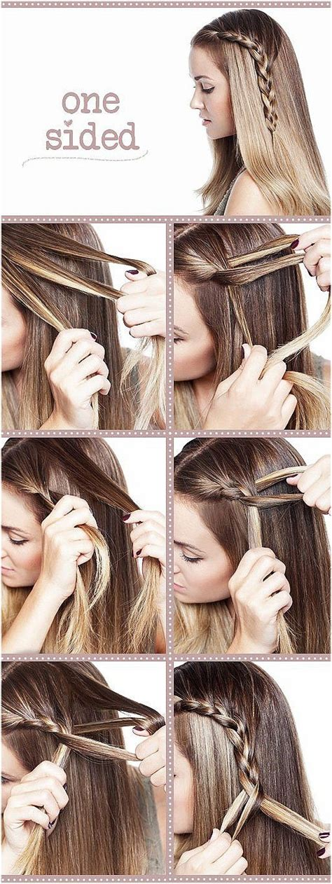 cute hairstyles tutorial 15 cute hairstyles with braids popular haircuts