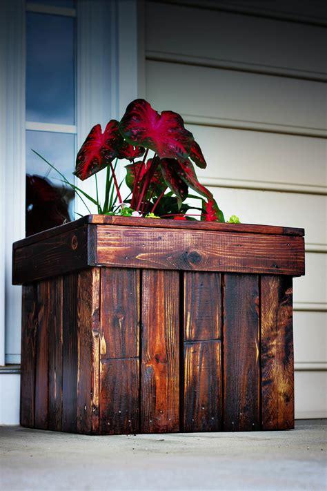 ana white planter box  pallets diy projects