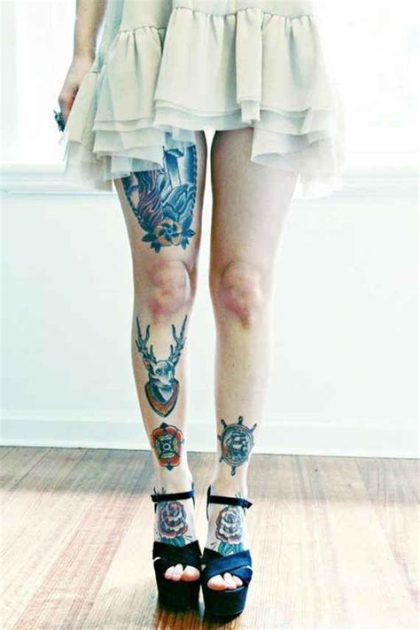 tattoo for girl leg 80 fashionable and wonderful leg tattoos and designs