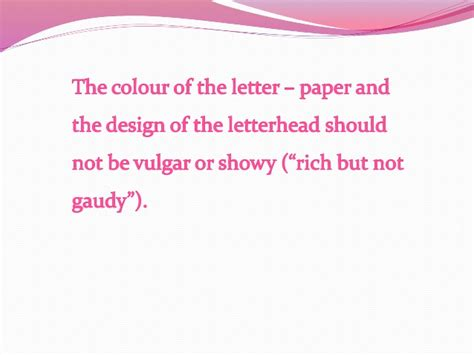 Business Letter Appearance appearance of a business letter1