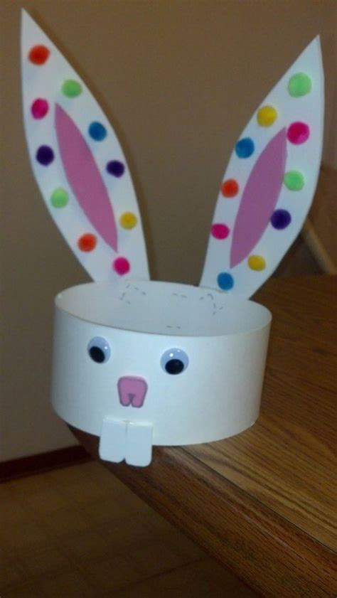 easter bunny hat template 51 easter crafts for
