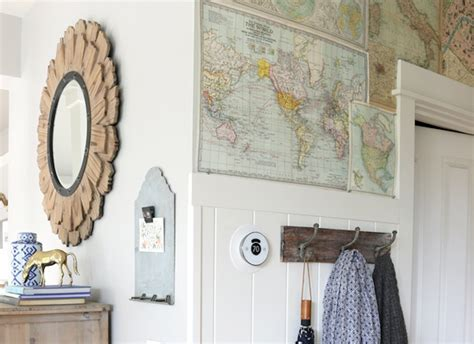 theinspiredroom net diy map walls 21 totally free ways to upgrade your home