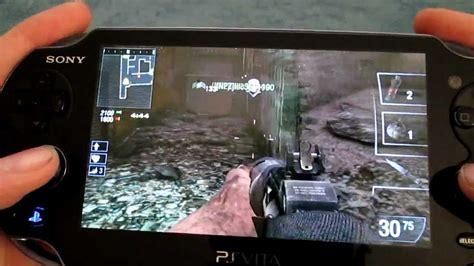 Psvita Call Of Duty Black Ops Declassified Reg2 call of duty black ops declassified gameplay