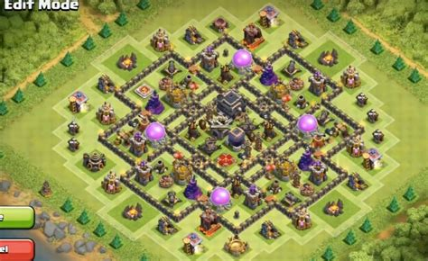 layout coc th9 6 epic th9 war base layouts farming base layouts for 2016