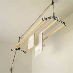 Clothes Dryer Ceiling Traditional Clothes Airer 4 Rail