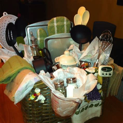 gift ideas for kitchen bridal shower gift basket for the kitchen party ideas