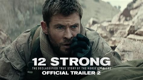 12 strong the declassified true story of the soldiers books trailer 12 strong moviehole