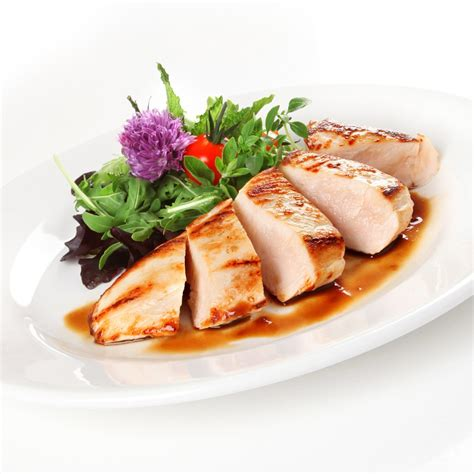 Shelf Of Cooked Chicken Breast by Chicken Breast Fillets