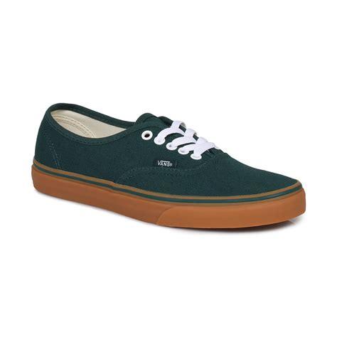 Vabs Authentic Navy Sole Gum cheap vans authentic june bug gum sole low top shoes