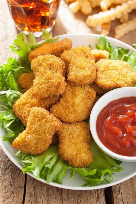 baked chicken nugget recipes