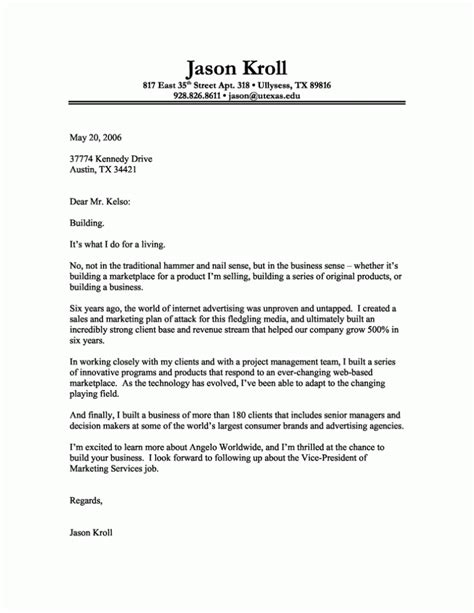Cover Letter Template For by Cover Letter Templates Coverletters And Resume Templates
