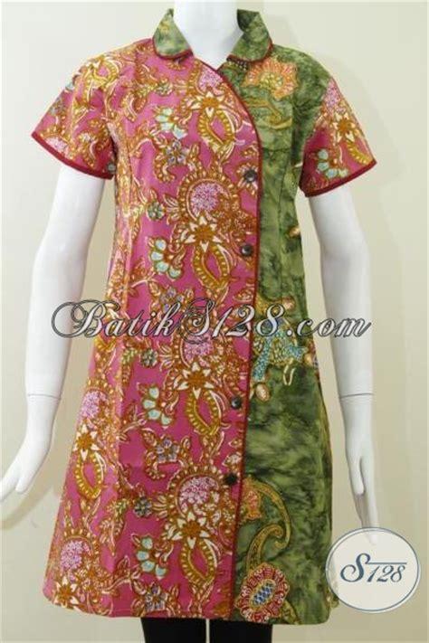 Baju Wanita Size L Mini Dress Batik Katun Dress Batik Katun Wanita Model Dress Mini Untuk Wanita Modis Dress Batik Lengan