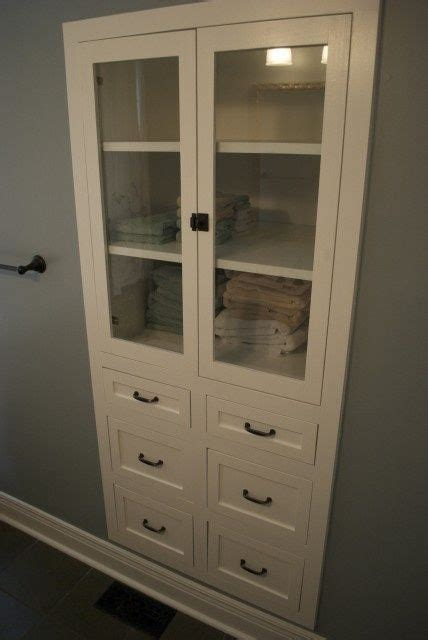 built  linen closet diy woodworking projects plans