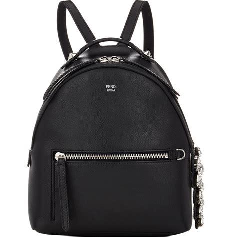Womens Backpack Solene Black Intl fendi mini backpack in black lyst