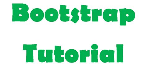 bootstrap tutorial epub ebooktutorials
