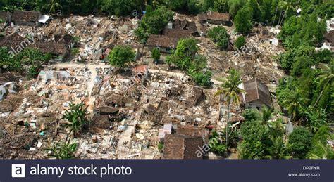 earthquake jogja jun 02 2006 yogyakarta central java indonesia aerial