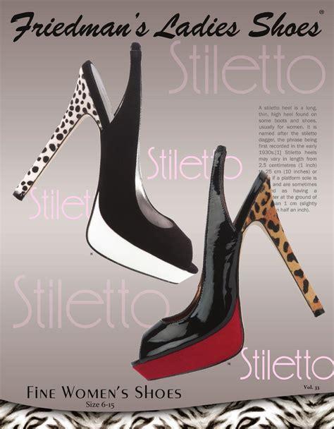 friedman s shoes issuu friedman s fall winter shoe catalog by
