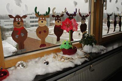 Fensterdeko Weihnachten Klassenzimmer by Virtuelle F 252 Hrung