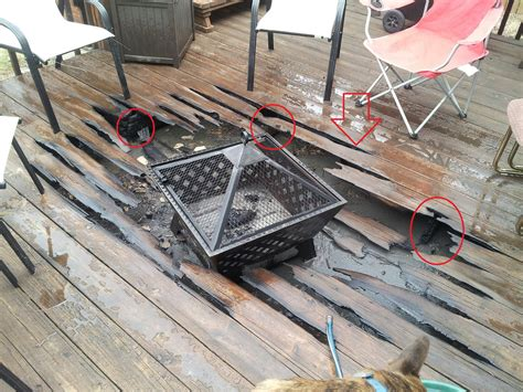 Can You Put A Chiminea On Decking Re This Is Why My Shouldn T Bbq This Is Why My Ex