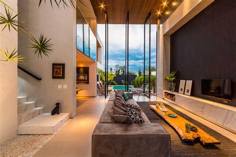 brazilian interior design contemporary brazilian house taking an elegant method to