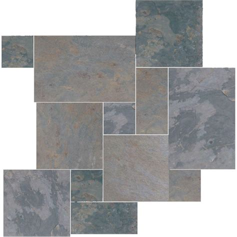 granite marble slate tiles daltile collection indian multicolor versailles pattern slate floor and wall tile