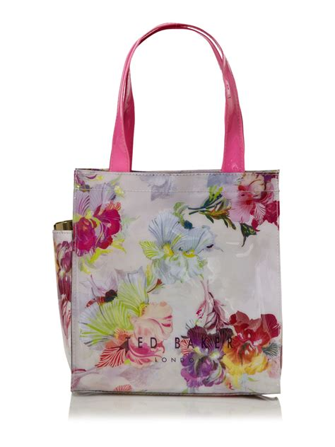 ted baker bowcon floral tote bag lyst