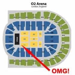 O2 Floor Seating Plan Pin O2 Arena London Seating Plan Block 406 Row K Accurate