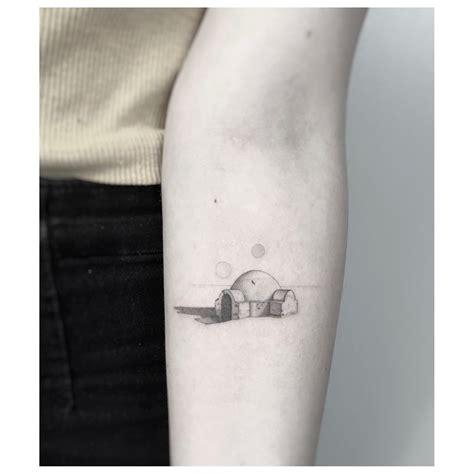 luke skywalker tattoo luke skywalker s tatooine house nordinary tattoos