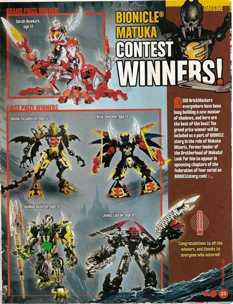 Magazine Contests And Sweepstakes - magazine contest mocs lego the ttv message boards